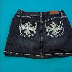 Maurice's jean skirt